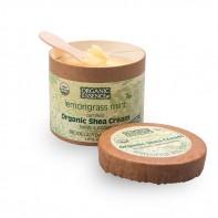 Органический крем Ши Лемонграсс и мята, Organic Essence