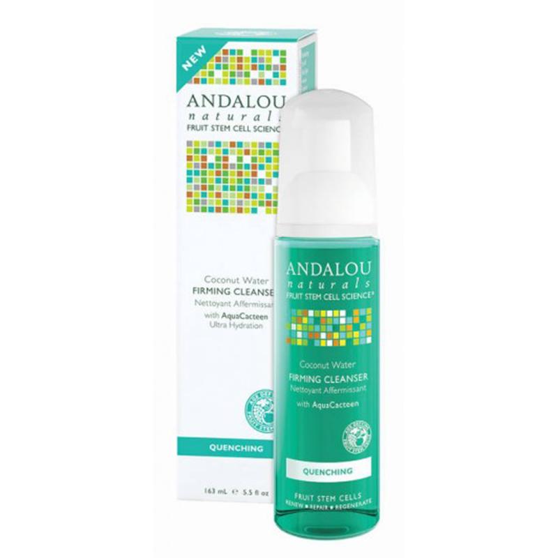 Очищающая пенка для лица с экстрактами кактуса, Andalou Natural