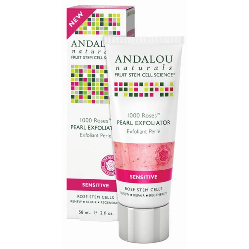 Гель-скраб для лица, Andalou Naturals